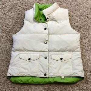 American Eagle reversible vest